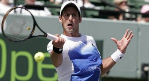 Novak Djokovic is favored to win his fourth straight Australian Open title.