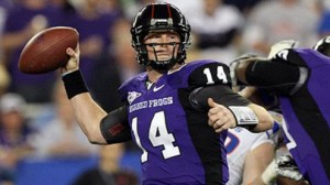 Andy Dalton TCU Horned Frogs Preview