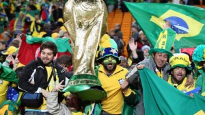 Brazil is a heavy favorite to beat Cameroon in the World Cup Monday.