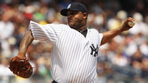 New York Yankees SP CC Sabathia is 1-2 with a 4.88 ERA in five road games