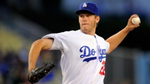 The Los Angeles Dodgers are sending out SP Clayton Kershaw on three days' rest Monday night