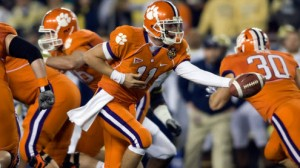 Clemson a surprising double-digit favorite on Saturday afternoon