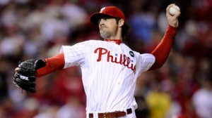 The Philadelphia Phillies have won all 10 of Cole Hamels' career starts versus the Cincinnati Reds
