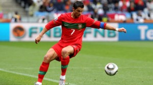 Cristiano Ronaldo has battled a knee injury and could miss the World Cup Group G opener against Germany Monday.