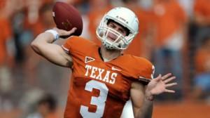 Garrett Gilbert Texas Longhorns Football