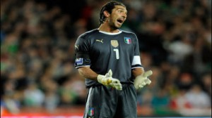Italian keeper Gianluigi Buffon could miss his second straight game with an ankle injury as Italy takes on Costa Rica in a key Group D match.