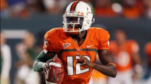 Jacory Harris Miami Hurricanes Football