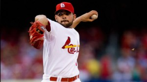 St. Louis Cardinals SP Jaime Garcia will be making his third appearance in 2014 Thursday night