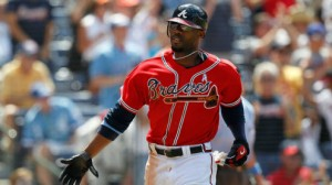 Atlanta Braves OF Jason Heyward will likely sit out this weekend against the Cincinnati Reds