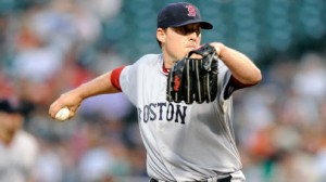 Boston Red Sox SP John Lackey is 1-2 with an 8.84 ERA in his last four starts against the Tampa Bay Rays