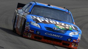 Kyle Busch is one of the favorites to win the Quaker State 400 at Kentucky. He is the defending champion at the race.