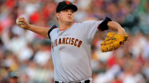 San Francisco Giants SP Matt Cain is 6-3 with a 4.60 ERA in 14 starts in the Mile High City
