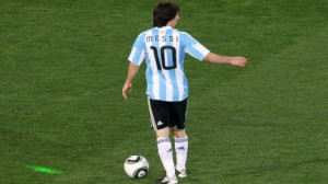 Argentina is heavily favored to beat Iran Saturday in the World Cup.