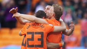 The Netherlands is a significant favorite to beat upstart Costa Rica in the World Cup quarterfinals Saturday in Salavador.