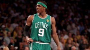 The Boston Celtics will be led offensively by PG Rajon Rondo Thursday night