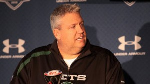 Rex Ryan is 4-0 SU when facing off against his brother Rob