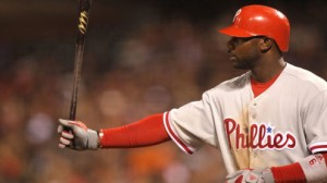 Philadelphia Phillies 1B Ryan Howard has enjoyed facing Atlanta Braves SP Tim Hudson