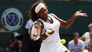 Serena Williams looks for history as she takes on Garbine Muguruza in the Championship at Wimbledon Saturday.