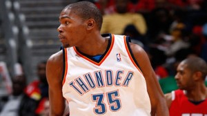 Kevin Durant and the Thunder take on the Sacramento Kings Sunday night in OKC. The Thunder are 8.5 point favorites.