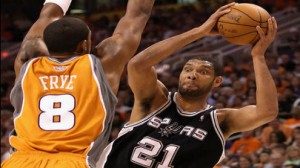 The Spurs look to take a 2-0 lead on the Thunder in the Western Conference Finals.