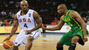 usa and brazil in the FIBA championships
