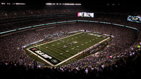 The Jets open up their new stadium tonight as 1.5-2 point home favorites over the visiting Ravens