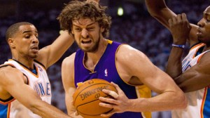 Los Angeles Lakers C Pau Gasol will get the start Friday night with Dwight Howard out of the lineup