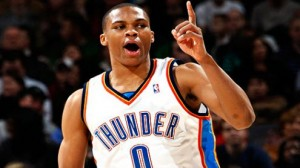 The Thunder are heavy favorites against the Rockets in game #2 Wednesday night.