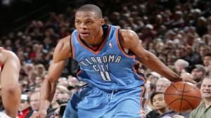 Oklahoma City Thunder PG Russell Westbrook is averaging 23.3 points over his last nine games