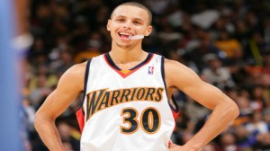 Stephen Curry is hitting 4.7 threes per game in the postseason.  EN FUEGO.