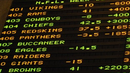 your sports games vegas odds today