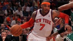 New York Knicks F Carmelo Anthony was sensational against the Miami Heat last season