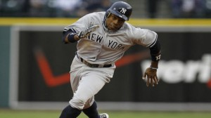 New York Yankees OF Curtis Granderson has terrible numbers at Tropicana Field