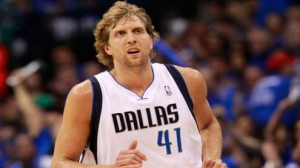 Dallas Mavericks F Dirk Nowitzki is averaging 24.6 points per game in his career against the New York Knicks