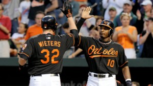 The Baltimore Orioles are averaging just 2.6 runs per game at home this season