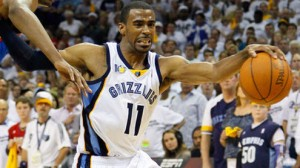 The Grizzlies and Thunder are tied at one game apiece in the Western Conference semifinals. The Grizzlies are 5 point favorites at home in game 3 Saturday.