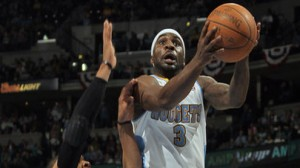 Denver Nuggets PG Ty Lawson returned to action Sunday