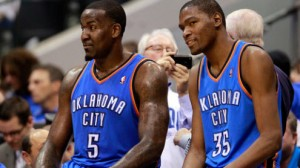 Kevin Durant and the Thunder have their eyes set on climbing the standings following both missing time with injuries.