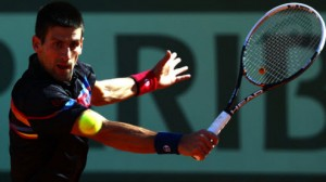 Novak Djokovic takes on Roger Federer in the final at Wimbledon Sunday.