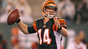 Andy Dalton averaged 66.1 percent completion on his passes last season.