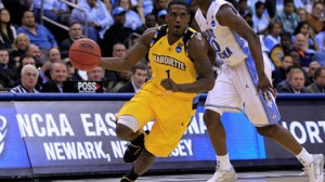 Marquette is a 1.5 point favorite against Butler.