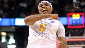 West Virginia is an 8.5 point favorite over Texas Tech in the Big 12 tournament in Kansas City Wednesday.