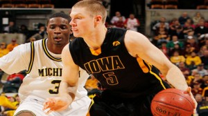 Iowa is a 13.5 point favorite against Northwestern Thursday in the first round of the Big Ten tournament in Indianapolis.