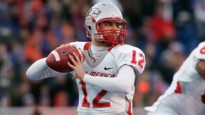 The New Mexico Lobos will try to throw the ball more in 2014