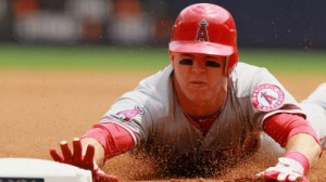 Los Angeles Angels OF Mike Trout has enjoyed great success against the Kansas City Royals in his young career