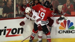 Chicago looks to even the Western Conference Finals against LA in game four Monday night.