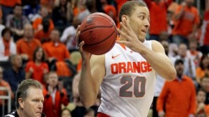 Syracuse is a heavy favorite against Montana in the east region second round in San Jose Thursday.