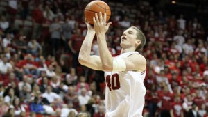 Indiana Hoosiers center Cody Zeller scored 23 points and grabbed 10 rebounds last time out