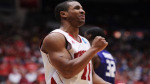 Wisconsin is a 13.5 point favorite over American in the West region second round Thursday in Milwaukee.