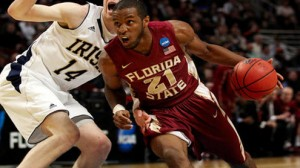 Florida State is a 2.5 point favorite at home against Louisiana Tech in the NIT quaterfinals Wednesday.